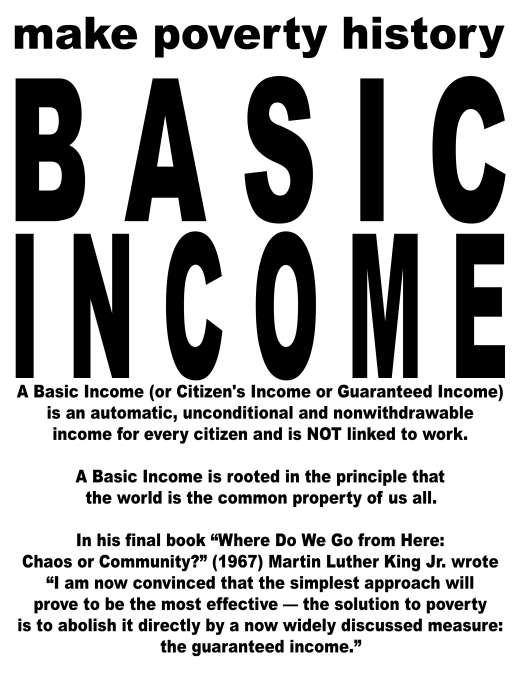 basic income poster