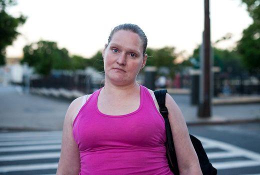 Bernice: Hunts Point, Bronx by Chris Arnade