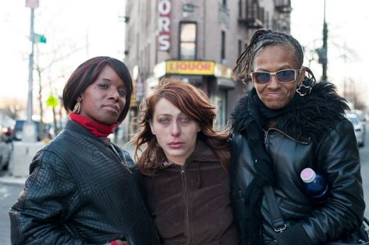 Nicky, Vanessa and Mary Alice: Hunts Point, Bronx by Chris Arndade