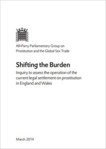 APPG Prostitution and Global Sex Trade - Shifting the Burden 2014