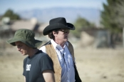 Death in the Desert - Josh and Mike - pic from the set. Photo by Tai Howard